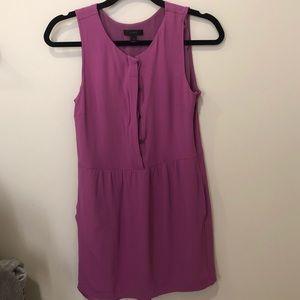 J Crew Purple Shift Dress